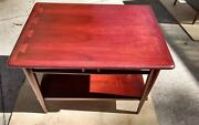 Lane Acclaim Coffee Table Dovetail Vintage Walnut 60s 2 Matching End Tables