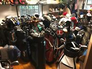 Golf Club Collection 70+ Bags 1000+ Clubs High Quality Vintage And Collectible