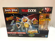 Angry Birds Star Wars Telepods Death Star Trench Run Playset Brand New