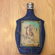 Vintage Jim Beam, Beam's Choice Collector Bottle, The Scout - Frederic Remington