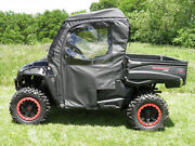 Soft Top + Rear + Doors For Existing Windshield Mahindra 750 Xtv New 2 Color