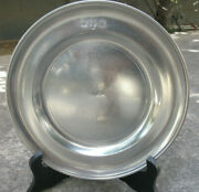 Collectible Handcrafted John Somers Brazil Js X Mg A Pewter 6 3/4 Plate Mint