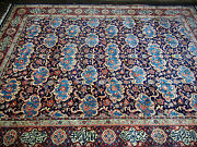 Authentic Fine Excellent Antique Islamic Poetry Wool Hand Knotted Rug