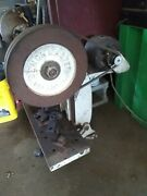 Bench Master 4 Ton Punch Press With 2 Bench Clamps Works Great