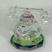 Iris Arc Antique Telephone Fantasy Collection Rainbow Crystal Hand Crafted