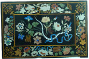 48 X 32 Marble Dining Table Top Pietra Dura Inlay Art For Home Decor
