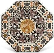 36 Table Top Marble Inaly Work Pietradura Craft Handmade Home Decor Gifts