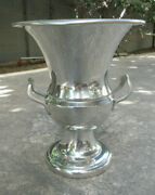 Handcrafted 9 3/4 Connecticut House Bright Pewter Wine Champagne Bucket Mint