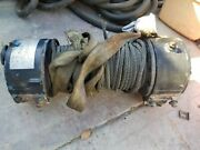 Ramsey Hydraulic Winch 8 Ton H-246-r 8,000lbs. With Cable.