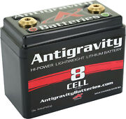 Antigravity Batteries 8 Cell Lithium Ion Small Case Motorcycle Battery Ag-801
