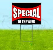 Special Of The Week 18x24 Yard Sign With Stake Corrugated Bandit Dealership