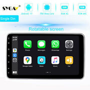 Android 10 Single 1 Din Car Stereo Bluetooth Touch Screen Gps Radio Head Unit