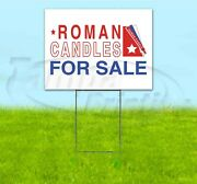 Roman Candles For Sale Arrow 18x24 Yard Sign With Stake Corrugated Pyrotechnics