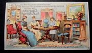 Graphic Victorian Trade Card Advertising Campbelland039s Varnish Stains