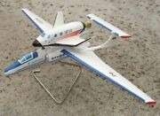 M-55 High Altitude Aircraft With S-21 Spaceship Myasischev Factory Model