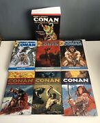 Conan The Cimmerian Barbarian Mixed Lot Collection Omnibus Tpb Paperback 7 Lot