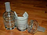 Chivas Regal Scotch Whisky Glasses With Lids - Pair Of Two 2