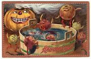 Halloween Postcard. Raphael Tuck And Sons, Series 160. Creatures And Jol.