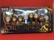 Pez Lord Of The Rings Limited Edition Collector Series Holiday,birthday Gift Set