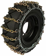 29x8x15 Forklift Tire Chains 8mm Square Link Hyster Lift Truck Snow Traction