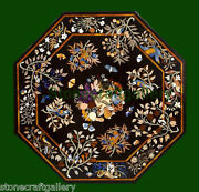 48 Coffee Table Top Marble Pietra Dura Inlay Handmade Work Garden And Home