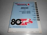 1980 200 Hp Genuine Johnson Evinrude V6 Outboard Repair And Service Manual 235 Hp
