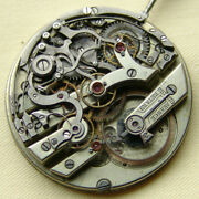 Vintage 45mm Movement By Agassiz Chronograph For Parts Or Restore