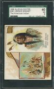 1888 N36 Allen And Ginter American Indian Chiefs - Crows Breast - Sgc 3 Vg
