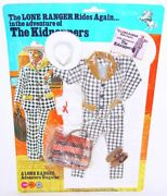 Gabriel Marx Toys The Lone Ranger The Kidnappers Figure Outfit Moc`75 Top Rare
