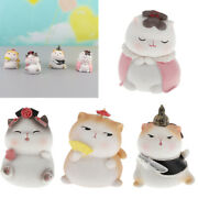 Collections Cat Hand-painted Life-like Cat Home Desk Figurine Statue Toy