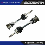 Pair Front Cv Axle Shaft For 4wd 1998-2001 2002 2003 2004 Nissan Frontier Xterra
