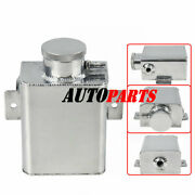 Universal 1235ml Aluminum Coolant Overlow Catch Can Bottle Expansion Tank Or Cap