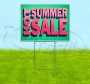 Hot Summer Sale 18x24 Yard Sign With Stake Corrugated Bandit Usa Business Deals