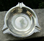 Vintage Collectible John Somers Js X Mg Brazil Bright 3 Rest Pewter Ashtray Mint