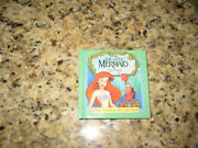 Disneyand039s The Little Mermaid On Stage A Tiny Changing Pictures Book Rare New