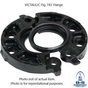 12 Victaulic Style 743 Flange Adapter W/ E Gasket For Grooved End Fittings