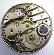 Rare 44mm Repeater Antique Pocket Watch Movement Not Work Repeater Z294