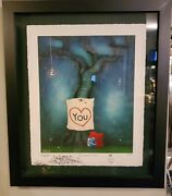Fabio Napoleoni I Just Wanted You To Know Framed 47/47 Artist Proof Print