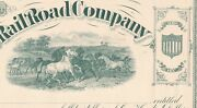 Sioux City And Pacific Railroad Unissued Stock Sio-400-s-59