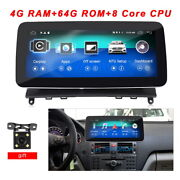 Android Car Player For Mercedes Benz C W204 Clk Class Monitor Audio Gps Stereo