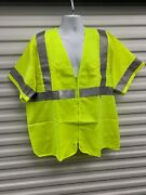 Estex Safety Vest Ansi 107-2010 Class 3 Level 2 Arc Rating Ebt=5.5 Made In Usa