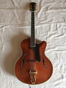 Eastman Ar810ce Archtop Guitar 2003 Serial297 17in Brown Carved Top And Back