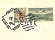 Ireland Eire 1922 Kgv 9d Late Use Special Events Spoon Cancel Cover 1963 R183
