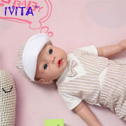 Holiday Gifts Ivita 20 Silicone Reborn Baby Doll Girl Accompany Babies+clothes