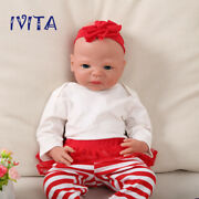 54cm Silicone Reborn Baby Doll Girl Playmate Toys Babies+clothes Holiday Gifts