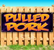 Pulled Pork Advertising Vinyl Banner Flag Sign Many Sizes Available Usa Barbecue