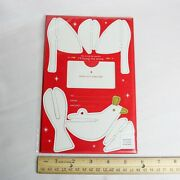 Starbucks Coffee 2012 Dove Ornament Holiday Gift Card Holder Sleeve W Envelope
