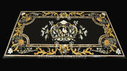 48 X 32 Marble Dining Center Table Top Pietradura Handcrafted Inlay Work