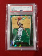 Giannis Antetokounmpo 2018 Panini Hoops Green Psa 10 Out Of 99