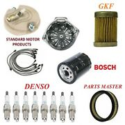 Tune Up Kit Filters Cap Wire Plugs For Pontiac Catalina V8 7.5l 4bbl And 6.6l 1972